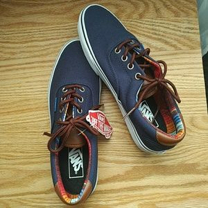 Navy Blue Vans - Limited Edition